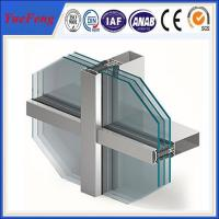 Quality Innovative facade design and engineering-aluminium curtain wall manufacturer for sale