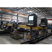 Quality Steel Plate CNC Flame Plasma Cutting Machine For Ship Building Industry 4200mm X 16800mm for sale