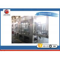 Quality High Accuracy Sugar Fruit Juice Filling Machine Large Filling Scope 10000bph for sale