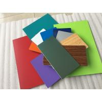 Buy Various Colors Aluminum Composite Plate Waterproof With Nano PVDF Paint at wholesale prices