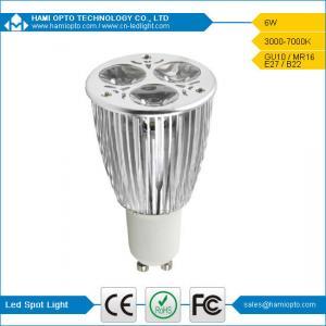 China LED Spot light with high luminous 6W high Brightness CE ROHS on sale