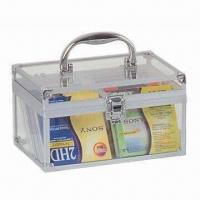 Quality Storage Case, Sized 215 x 132 x 120mm, Exterior White Acrylic Not Including CD Page for sale