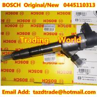 Quality BOSCH Original and New Injector 0445110313 for Foton (Beijing Futian Envir.) for sale
