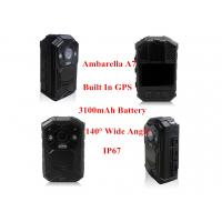 Quality Indispensable Law Enforcement Police Cameras IR Night Vision 1080P GPS Police Wearable Body Camera for sale