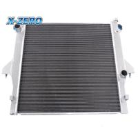 Quality DODGE RAM 2500 Aluminium Racing Radiators 2 Row 2003-2011 5.9L 6.7L Cummins for sale