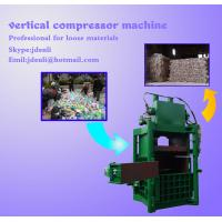Quality vertical baling press,60tons compressing machine,80tons baler machine for sale
