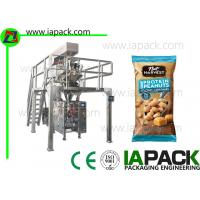 Quality 40g Nuts Polythene Packaging Machine / Automatic Pouch Packing Machine for sale