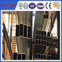 Quality Top aluminium pipe manufacturers with hundred sizes of anodized aluminium tube for sale