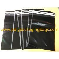 Quality Shipping Plastic Bags For Clothes 29 Cmx 40cm Self Adhesive Black Color for sale