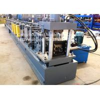 Quality Automatic Storehouse Sheet Metal Rack Roll Forming Machines 7.5kw Power for sale