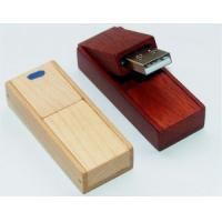 Buy cheap OEM Promotional Swivel Wooden Usb 2.0 Flash Drive Memory stick cheap usb drive from wholesalers