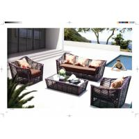 Quality new product five star rattan sofa conservatory Furniture resin Wicker Luxury sofa for sale