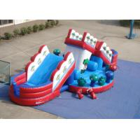 Quality Attractive Funny Inflatable Obstacle Courses Outdoor Games Digital Printing inflatable mushroom slide for sale