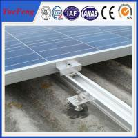 Quality Factory price, roof/ tile roof solar mounting structure, AL rail,glazed tile, clamps for sale