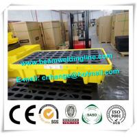 Quality Safety Fire Resistant File Cabinet Spill Pallet Chemical Spill Containment Deck Trays for sale