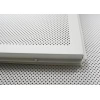 China Fireproof dropped acoustical ceiling tiles Lay In for building Suspended Ceiling tiles 2x4 on sale