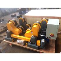 Quality HGZ 5 Pipe Welding Rotator With Hand Control Box , Turning Speed Digital Readout for sale