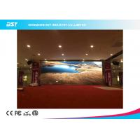 Quality IP43 Indoor P4 SMD2121 Rental LED Display Screen Slim Cabinet AC 110V~220V for sale