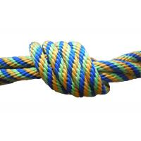 Quality Multicolor Braided nylon / Polypropylene Non Elastic Tape Rope spandex fabric pulley for sale