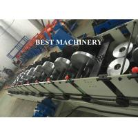 Buy Rectangle Shape Water Down Spout Roll Forming Machine Flying Saw Cutter at wholesale prices