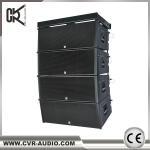 Quality 2x12 inch three-way line array system W-8B big outdoor sound system for sale