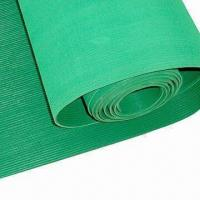 Buy cheap 3mm x 1.2m x 10m Fine Ribbed Rubber Sheet, Available in Different Colors from wholesalers