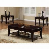Quality Beautiful Antique Coffee Table with Solid Wood Foot and NC Painting for sale