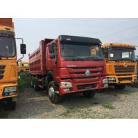 Quality 30 Ton Payload Capacity Used Dump Truck , HOWO Brand Used Tipper Trucks for sale