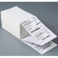 Quality Disposable Self Stick Address Labels Roll With Waterproof Thermal Barcode for sale