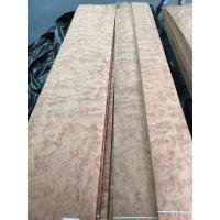 Sliced Natural Bubinga Pommele Wood Veneer Sheet