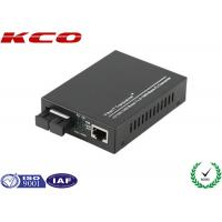 China Ethernet Fiber Media Converter , Optical Fiber Media Converter 1000Mbps SC Port on sale