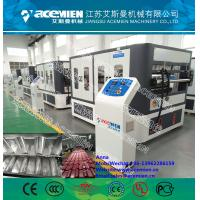 Quality 1050mm width PVC Composite Plastic Roof Tile Machine for ASA Synthetic Resin Roof Tile for sale