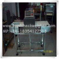 Quality metal detector for hair care chemicals production line,chemical metal detector for sale
