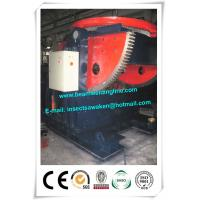China OEM Automatically Welding Rotary Table , Tank / Pipe Positioner 30 Tons on sale