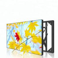 Quality Flat Lcd Video Wall 55 Inch 3.5mm 3*3 1080P 4k Resolution Ultra Slim for sale