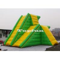 China Super Size Double - Deck Inflatable Water Tower Slide For Water Parks on sale