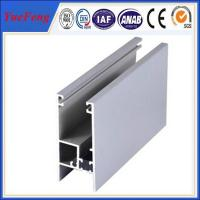 Quality Oxidation aluminum alloy 6061/6063 windows and doors profiles aluminum extrusion for sale
