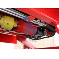 Quality Supersize Body Vertical Feed Mixer Wagon For Livestock Farm Red Color for sale