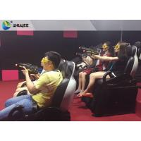 Quality Indoor 3 Seater Shooting Gun Game 7D Cinema Movie Theater Interactive Machine for sale