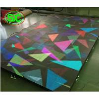 Quality 6.25 Mm Smd Digital Dance Floor Full Color , Stage Starlight Dance Floor For Outdoor for sale