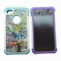 Quality Silicone Mobile Phone Cases, Accessories for iPhone, Custom Logos Print and Colors Accepted for sale