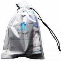 Quality 0.2mm Thickness Drawstring Sports Bag Eco Friendly PVC For Swimsuits And Beach for sale