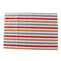 Quality Colorful Stripe Printed Dining Table Mats Cotton Fabric For Decoration for sale