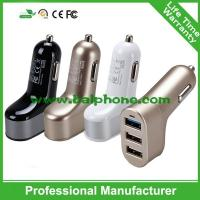 China 5V 5.1A 3 port USB Car Charger ,3usb car charger,3usb travel charger for iphone 6 for ipad on sale