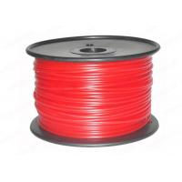 Quality Red PLA 3mm 3D Printer Filament 3D Printing Materials , PVA / Nylon / Conductive Filament for sale