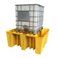 Quality IBC Tank Storage Safety Spill Pallet, PE Spill Containments For IBC Tank Storage for sale