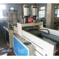 Quality PC Control Plastic Bag Making Machine , Double Layer Four Line T Shirt Bag Making Machine for sale