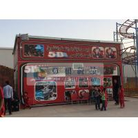 Quality Fiber Glass Material 5D Movie Theater with Pneumaitc / Hydraulic / Electric System for sale
