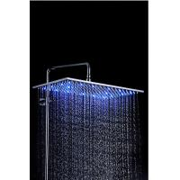 Quality LED Color Changing Rain Showers Heads Stainless Steel For Steam Room for sale
