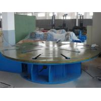 Quality Steel Automatic Welding Machine Max Loading 5 Tons Horizontal Rotary Table for sale